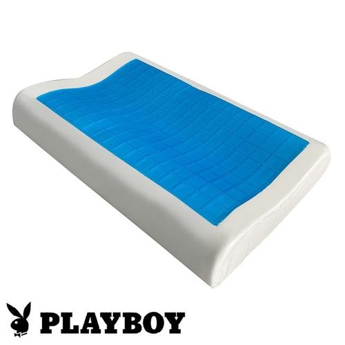 Play Boy凝膠曲線枕(60X40X12cm)