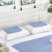 固態冷凝冰涼枕墊(水藍款 30X40cm)