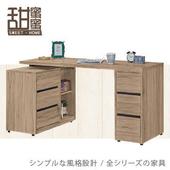 《甜蜜蜜》可里5尺多功能書桌(全組)