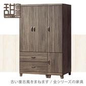 《甜蜜蜜》巴倫4尺三門衣櫃
