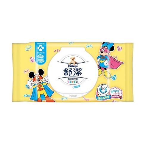 舒潔 兒童學習專用濕式衛生紙(40抽/包)