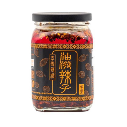 《李雪辣嬌》油潑辣子-家庭號(340g/罐)