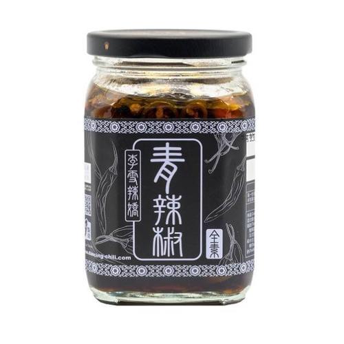 《李雪辣嬌》青辣椒-家庭號(370g/罐)
