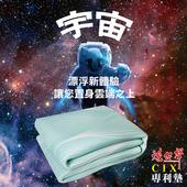 《YAMAKAWA》【炮仔聲】全方位CIX專利墊(綠色水滴紋)/雙人(雙人(150*186cm))