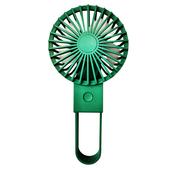 簡約折疊 USB充電風扇 手持風扇 桌扇4.5*8*11CM(綠色)