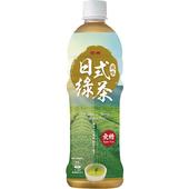 《金車》日式風味綠茶-無糖(580ml*4罐)