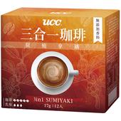 《UCC》3合1珈琲 炭燒拿鐵(17gx12入)
