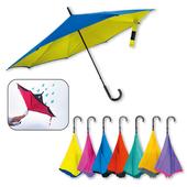 平版經濟型反向傘(亮采PG布7色隨機出貨)