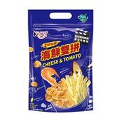 《KAKA》海鮮雙拼 60g(起司醬燒蝦餅+蕃茄魚薯條)
