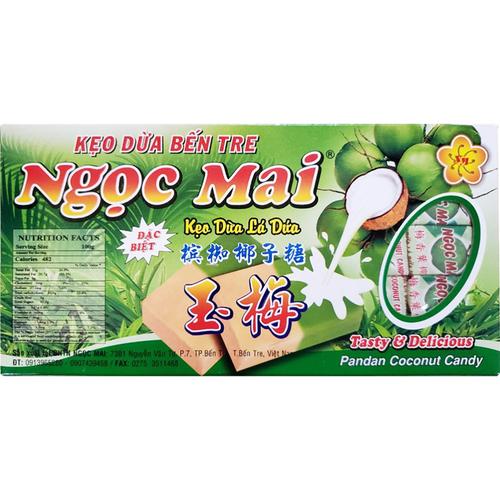 《即期2021.4.11 Ngoc Mai》椰子糖果 400g/盒(香蘭風味)
