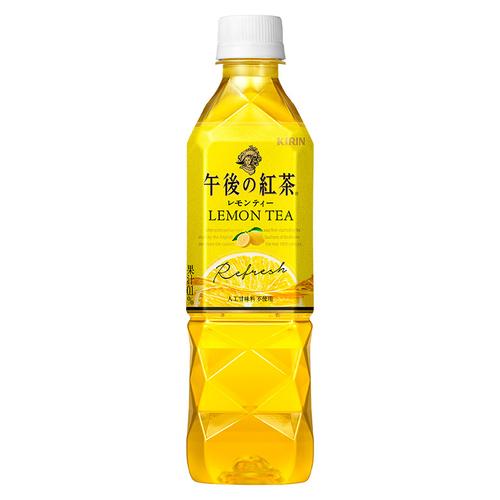 《KIRIN 午後紅茶》檸檬紅茶(500ml)