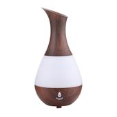 水滴香薰機 加濕器 235ml(深木紋)