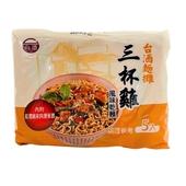 《台酒》麵攤-三杯雞風味乾麵(105gx5包/袋)