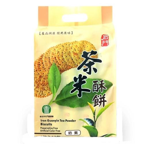 《石門農會》茶米酥餅(5枚入X12包/袋)