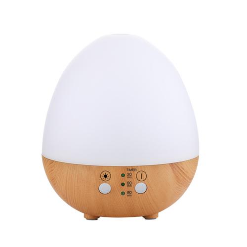 木紋蛋型香薰機 加濕器 235ml(淺木紋)