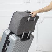 可套拉桿箱旅行收納包(灰 40X16X30cm)
