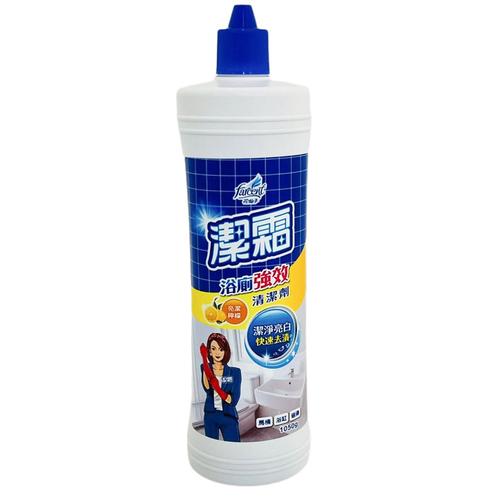 《潔霜》S浴廁清潔劑-亮潔檸檬(1050g)