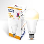 《威剛》LED 13W球泡燈(黃光)