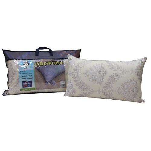《MIT台灣製》抗菌Q彈舒眠枕(46X47cm)