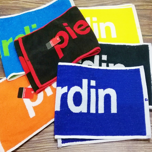 《Pierre cardin》時尚運動毛巾 顏色隨機出貨(23X110cm)