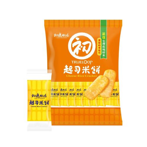 《初鹿牧場》起司米餅(105g/包)