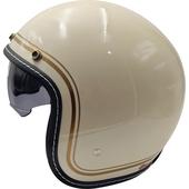 金邊騎士帽(白)