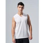 涼感透氣無袖衫3V-392(M灰)