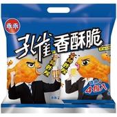 《乖乖》孔雀香酥脆香魚 4包入(240g)
