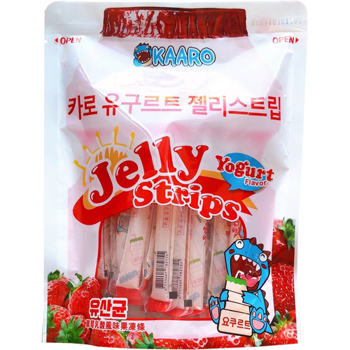 《KAARO》乳酸風味果凍條-600g/包(草莓)