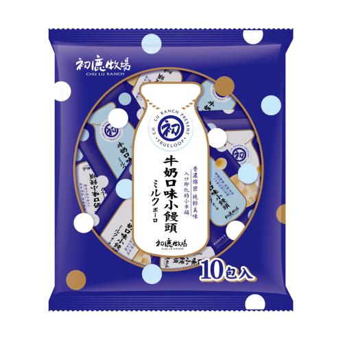 《初鹿牧場》牛奶口味小饅頭(150g/包)