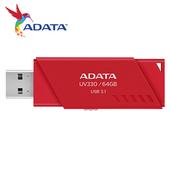 《ADATA 威剛》UV330 USB3.1 隨身碟64G 紅 $220