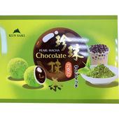 《崑崎》珍珠抹茶風味代可可脂巧克力120g/盒 $69