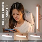 《貓掌造型》磁吸觸控LED燈條 USB充電 360X37mm黑 $380
