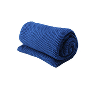 《halla malmo》編織毯-深海藍(130*170 cm)