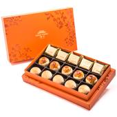 《漢坊》御藏-綜合15入禮盒(鳳梨酥X5蛋黃酥X5漢坊金沙小月X5)