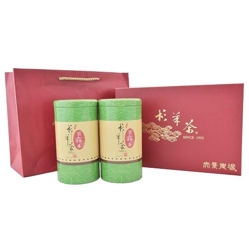 《文景農場》杉林溪高山雲霧茶禮盒(150gx2罐)