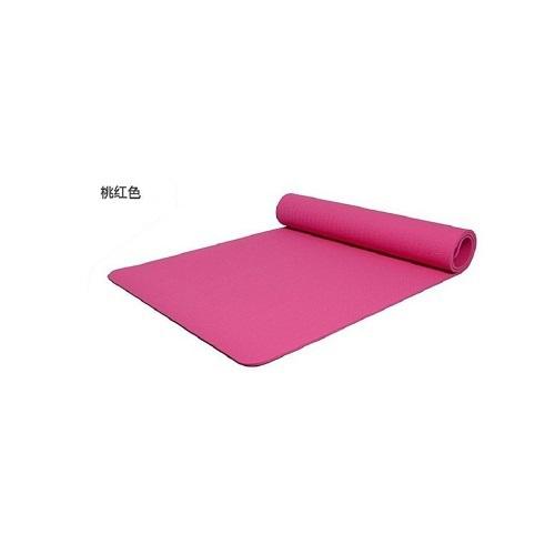 《台灣製》NBR環保瑜珈墊8mm 顏色隨機(180x60x0.8cm)