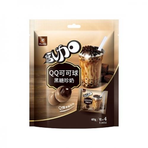 《77》乳加QQ可可球-160g(黑糖珍奶)