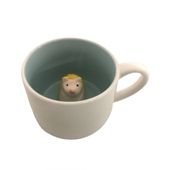 3D立體動物馬克杯 款式隨機  咖啡杯 牛奶杯 茶水杯(350ml)
