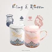 國王與皇后馬克杯禮盒組 款式隨機(380ml)