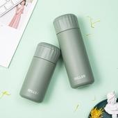 《DILLER》悠享時光304不鏽鋼茶水分離保溫杯280ml(綠色)