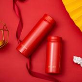 《DILLER》雅緻心選316超輕量不鏽鋼保溫杯280ml(紅)