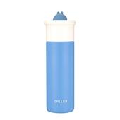 萌兔316不鏽鋼保溫杯350ml(藍)