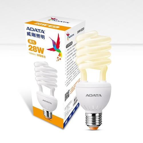威剛28W省電燈泡 AF-BUA30-28W65C(黃光)