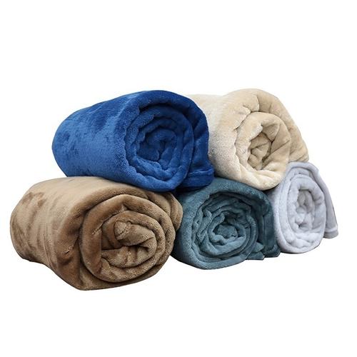 休閒毯  顏色隨機(130X170CM)