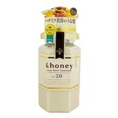 《日本&honey》蜂蜜亮澤修護護髮乳(445ML)