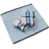 《TELITA》粉彩竹炭條紋童巾3入(33x33cm)