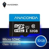《ANACOMDA 巨蟒》Gamer MicroSDHC UHS-I U1 C10 記憶卡(32GB/附SD轉接卡)