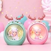 花鹿女孩小夜燈9X7X12cm(粉)