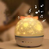 夢幻心願USB星空投影燈(13.1X13.1X13.6cm)